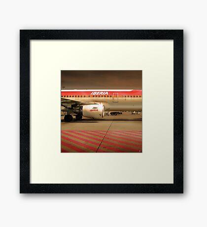 Tarmac 24 Framed Print