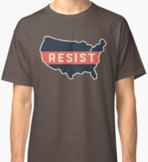 Resist Trump Across America Classic T-Shirt