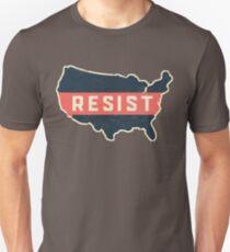 Resist Trump Across America Unisex T-Shirt