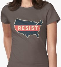 Resist Trump Across America Womens Fitted T-Shirt