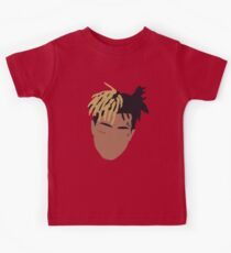 XXXTENTACION Minimal Design - Red Kids Clothes