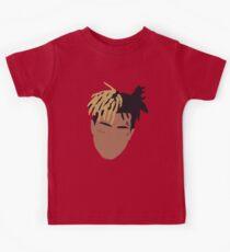 XXXTENTACION Minimal Design - Red Kids Tee