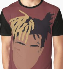 XXXTENTACION Minimal Design - Red Graphic T-Shirt