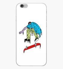 Grime Skateboarder iPhone Case