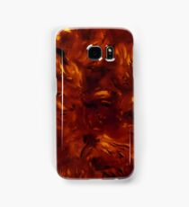 polished tortoise shell art deco phone case Samsung Galaxy Case/Skin