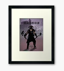 Legends of Gaming - Dragonborn Framed Print