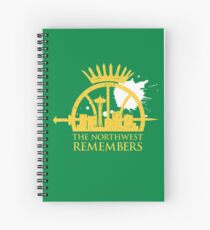 The Northwest Remembers Spiral Notebook