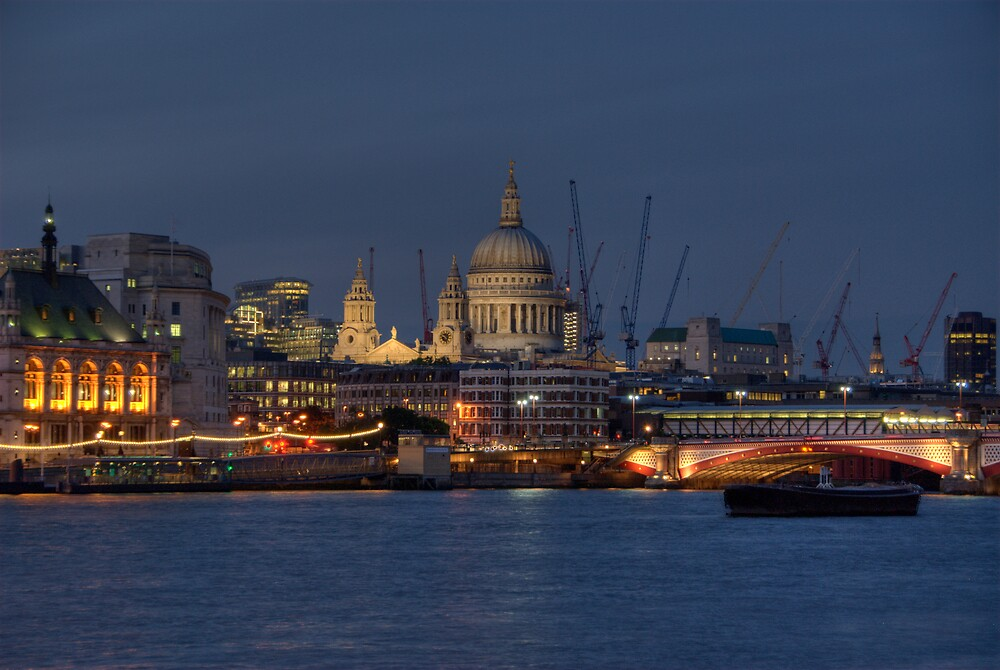 St Paul's on the Thames by Craig Goldsmith