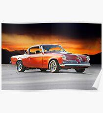1953 Studebaker Commander V8 Poster