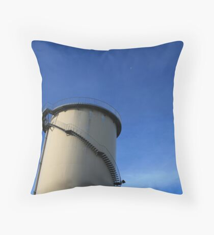 Paper Mill v.2 Throw Pillow