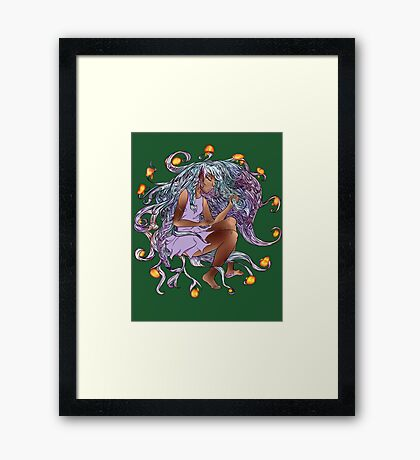 Don't Step in the Ring Framed Print