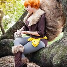 Squirrel Girl Petting Tippy  by KAMIcomics