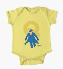 The Question - Superhero Minimalist Alphabet Clothing Kids Clothes