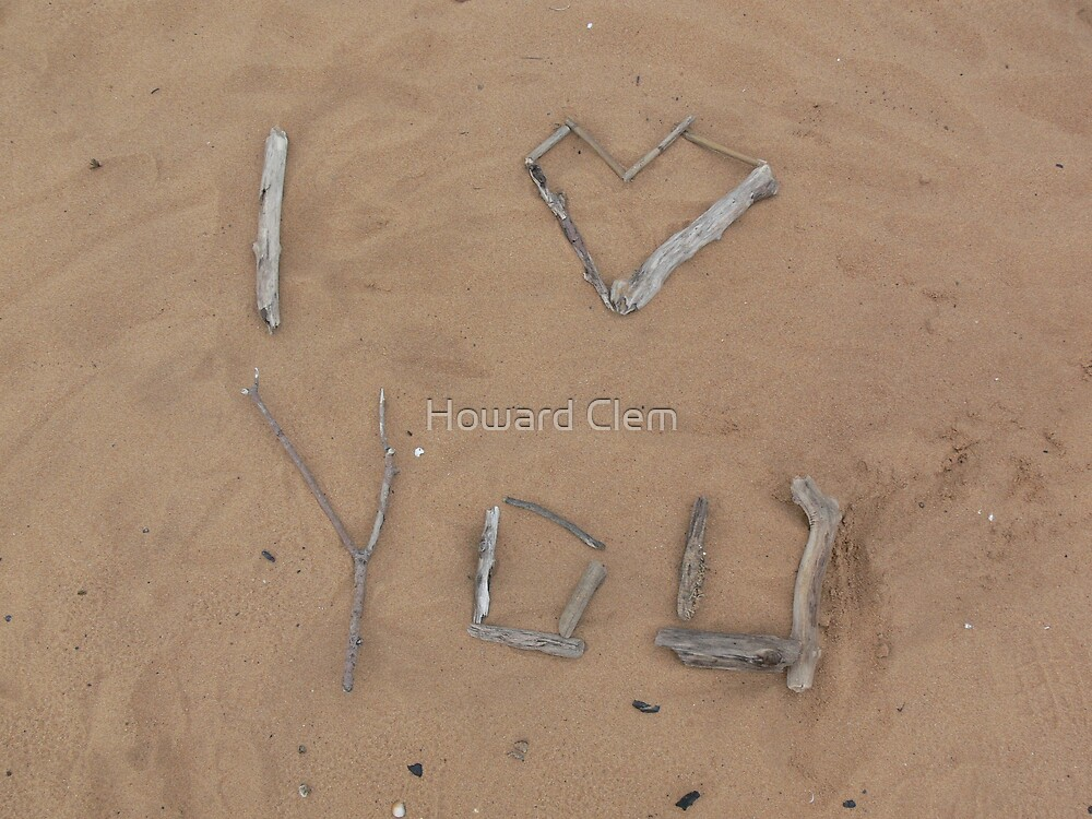 Sand Love by Howard Clem