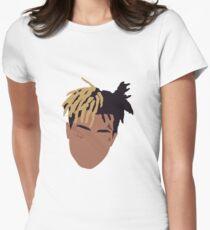 XXXTENTACION Minimal Design Womens Fitted T-Shirt