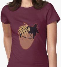 XXXTENTACION Minimal Design w/Stroke Womens Fitted T-Shirt