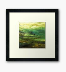 Tidal Fracture  Framed Print