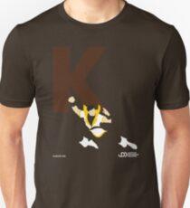 Karate Kid - Superhero Minimalist Alphabet Clothing Unisex T-Shirt