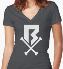 The Revenge Society Women's Fitted V-Neck T-Shirt