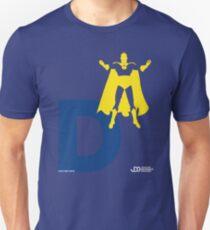 Doctor Fate - Superhero Minimalist Alphabet Clothing T-Shirt