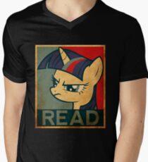 Brony Read Men's V-Neck T-Shirt