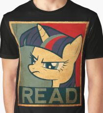 Brony Read Graphic T-Shirt