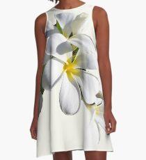 Frangipani A-Line Dress