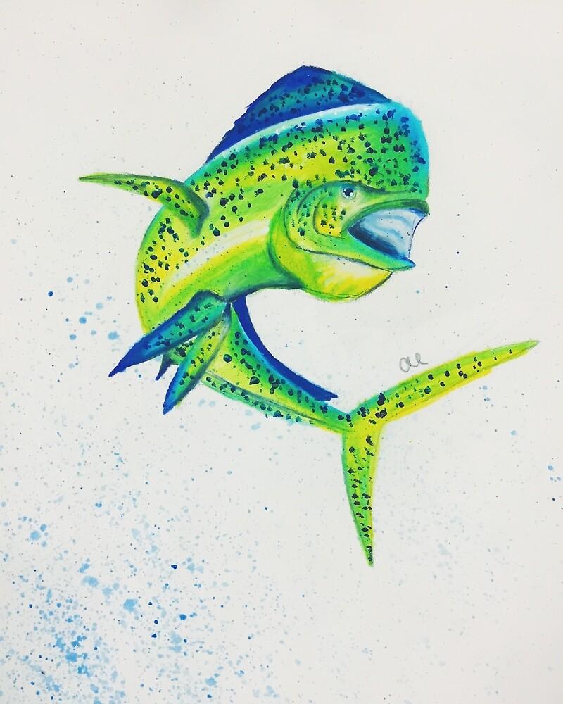 Deep Sea Dorado by livcolorfully