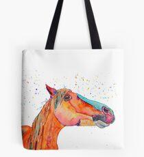 Arabian stallion Zouros Tote Bag