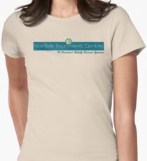 Norfolk Treatment Centre Logo Women's Fitted T-Shirt