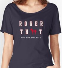 Tom Brady - Roger That Women's Relaxed Fit T-Shirt