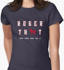 Tom Brady - Roger That Womens Fitted T-Shirt