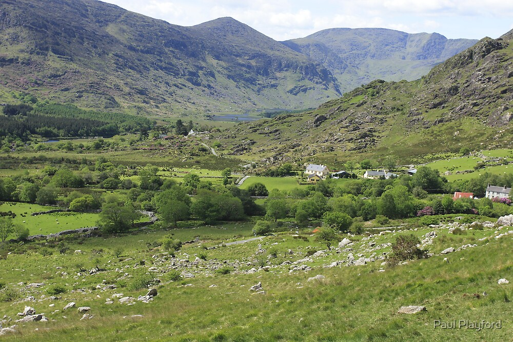 Macgillycuddy's Reeks, Killarney National Park, Co. Kerry, Ireland by Paul Playford