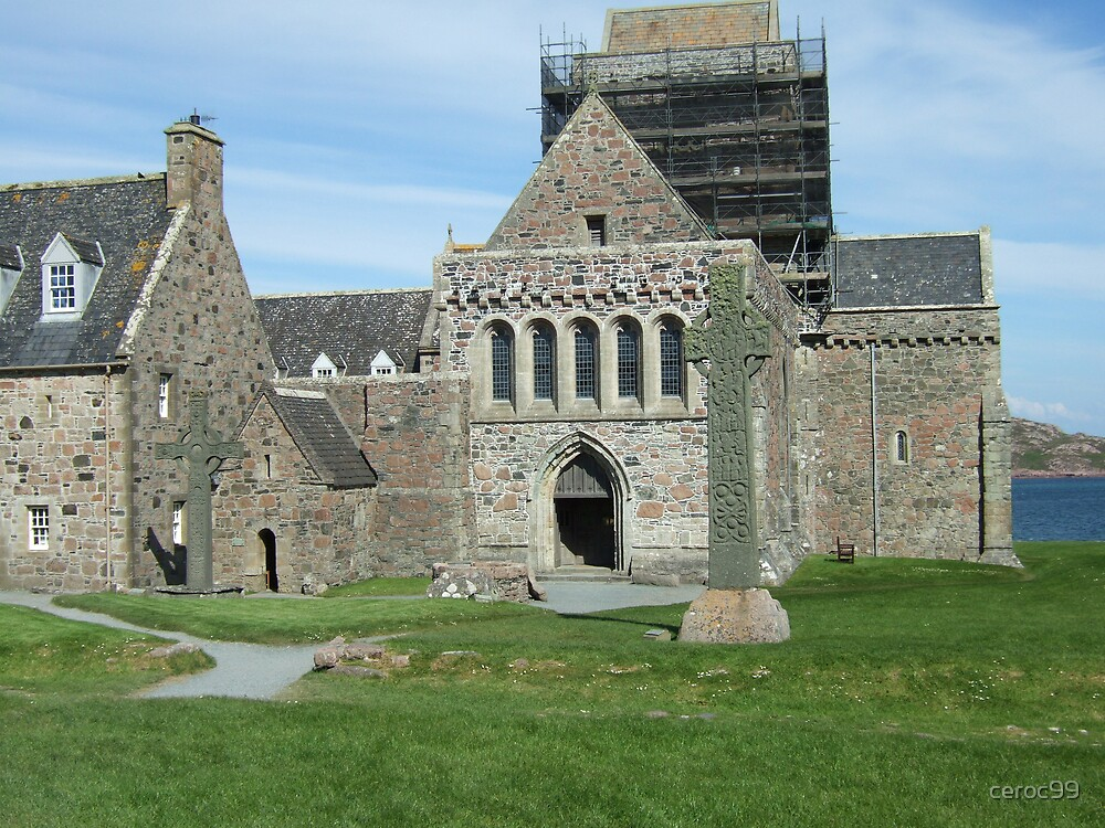 Iona Abbey by ceroc99