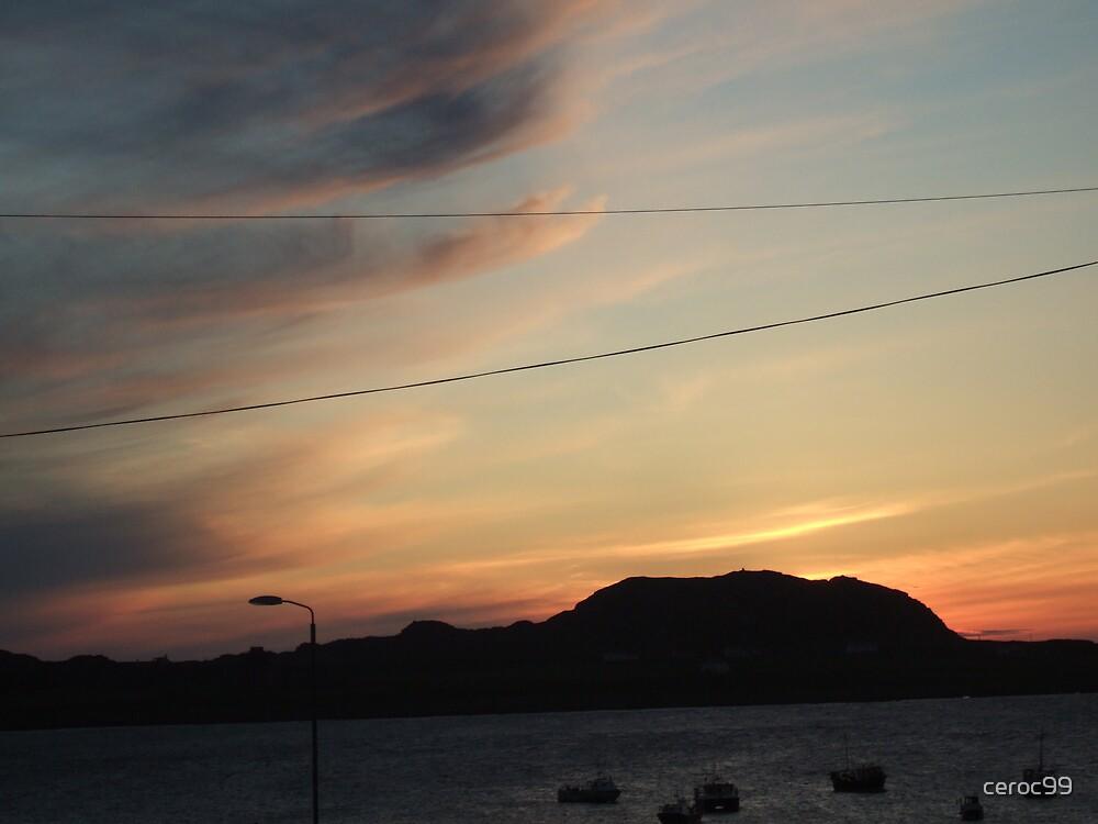 Fhionnport Sunset by ceroc99