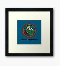 Hates: Vegetables (Battle Damage) Framed Print