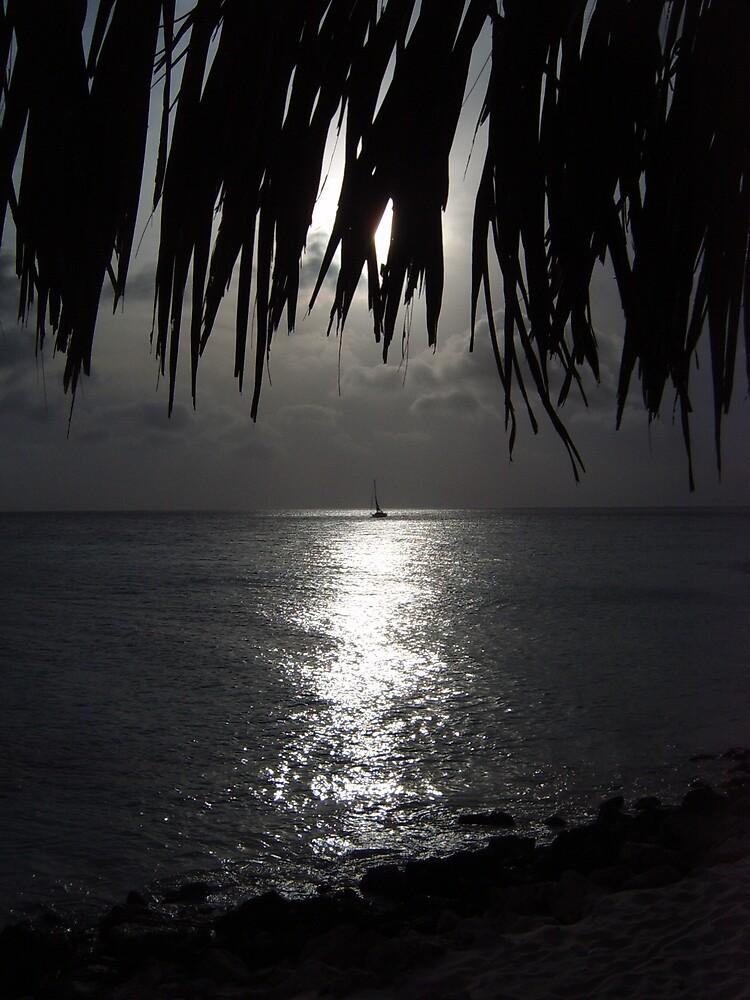 SUNSET IN ARUBA by KEDH