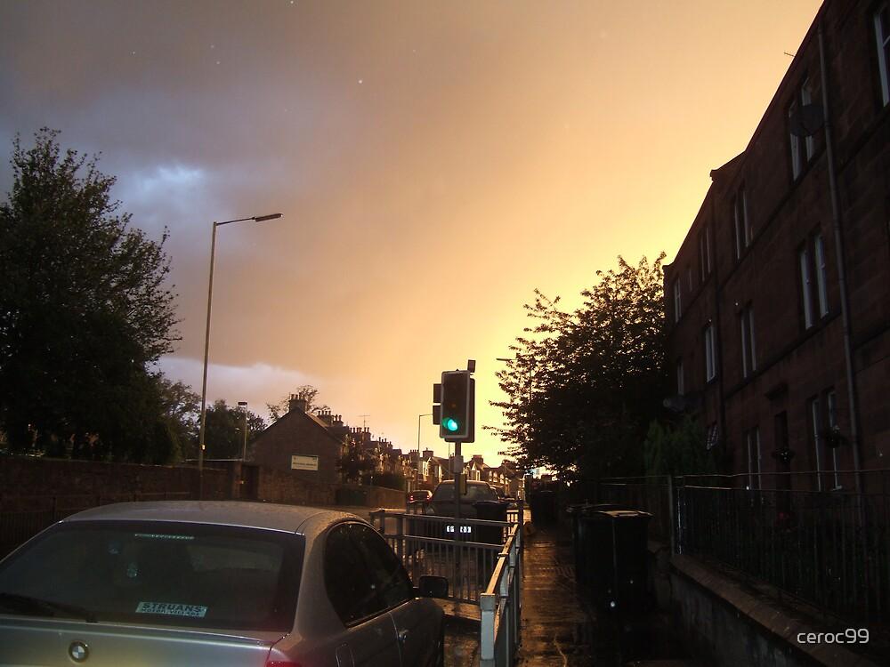 Westgrove Avenue  In the Rain by ceroc99