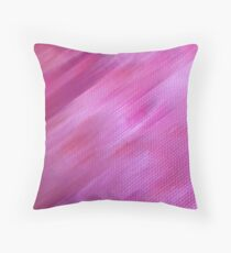Airbrushed Throw Pillow