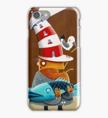 Fish and chips iPhone Case/Skin