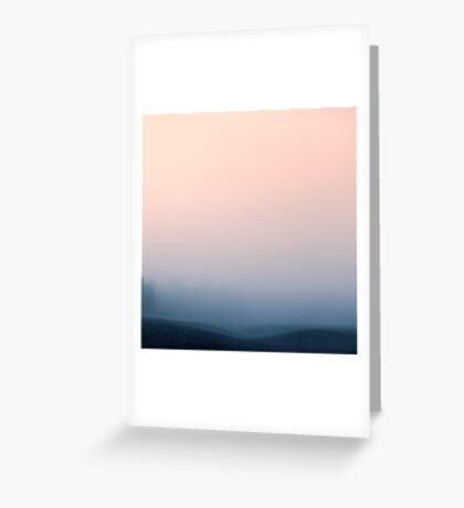 Hidden in the Mist Greeting Card