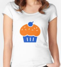OKC - KD Kevin Durant Cupcake Troll Shirt Women's Fitted Scoop T-Shirt