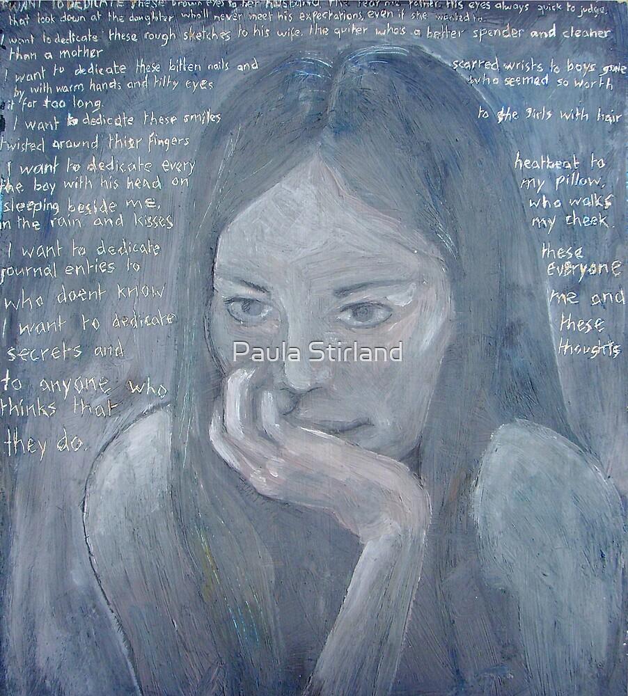 Bio portrait by Paula Stirland
