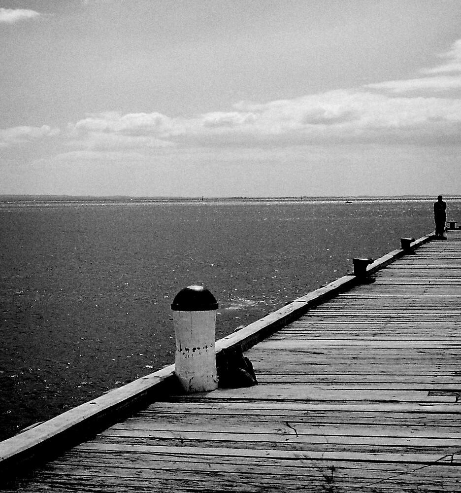 Pier 100 by Bruce  Watson