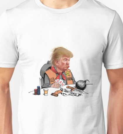 Donald Trump is helping Iran's radicals Unisex T-Shirt