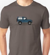 A Graphical Interpretation of the Defender 90 Station Wagon 50th Anniversary T-Shirt