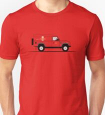 A Graphical Interpretation of the Defender 110 Hard Top Royal Mail Unisex T-Shirt