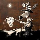Salvador the rabbit by Neil Elliott