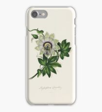 Ten lithographic coloured flowers WITH BOTANICAL DESCRIPTIONS DRAWN AND COLOURED BY A LADY. iPhone Case/Skin