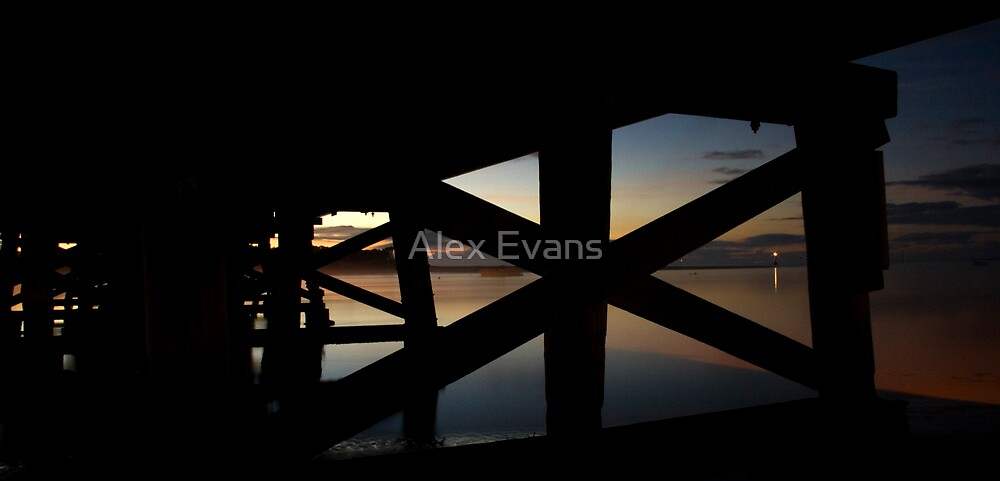 Barwon River Bridge by Alex Evans